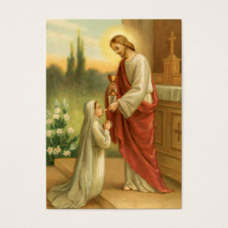 Prayer Cards: Eucharist in All Things Business Card