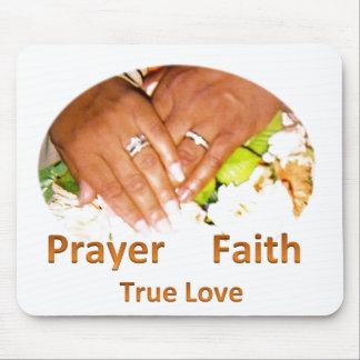 Prayer Faith True Love Mouse Pad