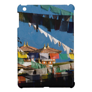 Prayer flags and chortens case for the iPad mini