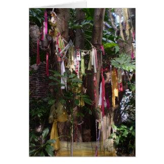 PRAYER FLAGS ON TREE NOTECARD CARDS