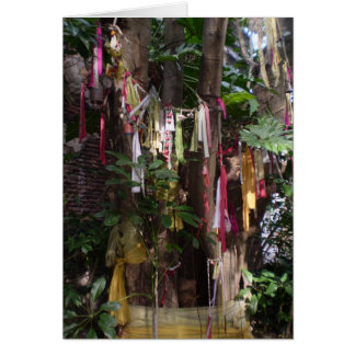 PRAYER FLAGS ON TREE NOTECARD NOTE CARD