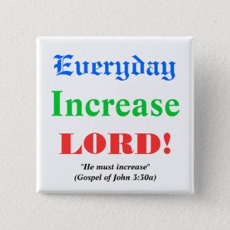 Prayer for Blessings 15 Cm Square Badge