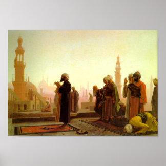 Prayer in Cairo Poster
