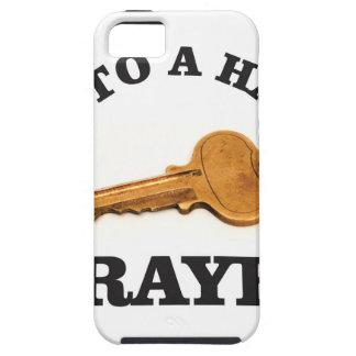 prayer key to happy life iPhone 5 cases