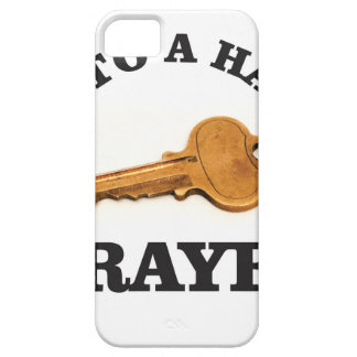 prayer key to happy life iPhone 5 covers