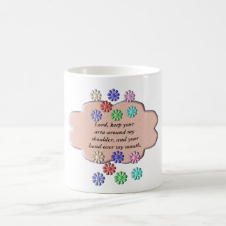 prayer - lord help me coffee mug