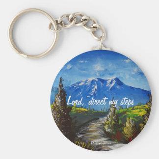 Prayer Mountain Road Key Ring
