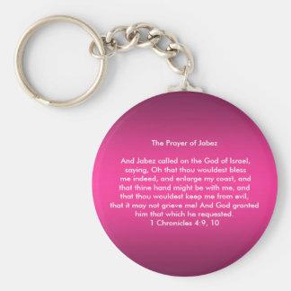 Prayer of Jabez Keychain