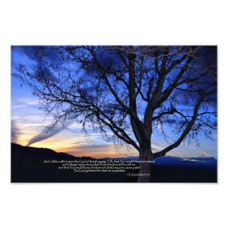 Prayer of Jabez Photo Print