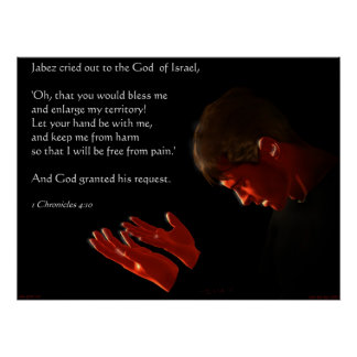 Prayer of Jabez Poster