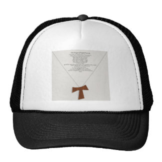 Prayer of Saint Francis Mesh Hat