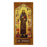 """Prayer of St. Francis of Assisi"" Rack Card Design"