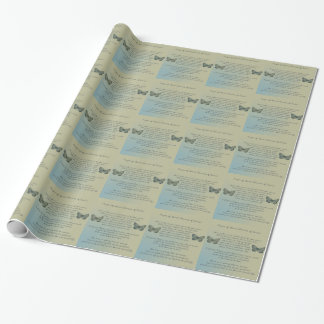Prayer of St. Francis of Assisi Gift Wrap