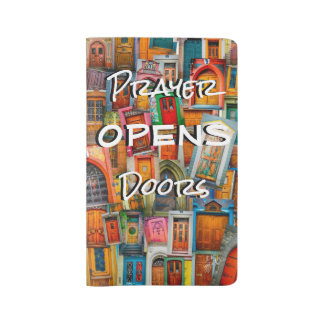 Prayer Opens Door Large Prayer Journal Moleskine