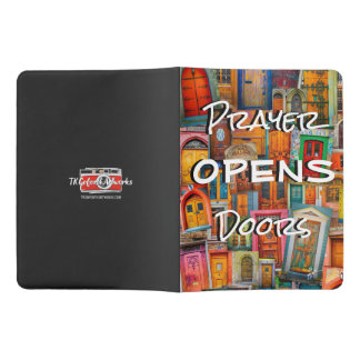 Prayer Opens Door X-Large Prayer Journal Moleskine