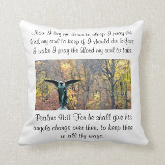 Prayer Pillow Psalms 91:11