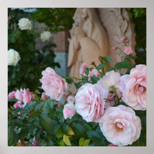 Prayer Roses Poster