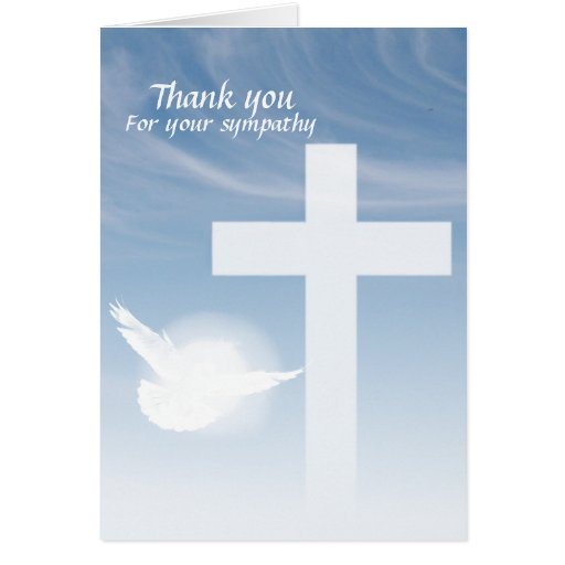 Prayer Thank you Greeting Cards