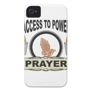 prayer the access to power Case-Mate iPhone 4 cases