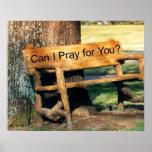 prayer tree bench print