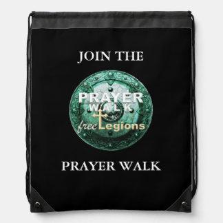 PRAYER WALK DRAWSTRING BAG