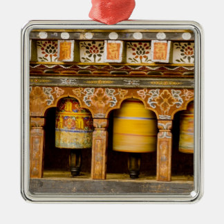 Prayer Wheels, Mani Wheel at Trongsa Dzong, Metal Ornament