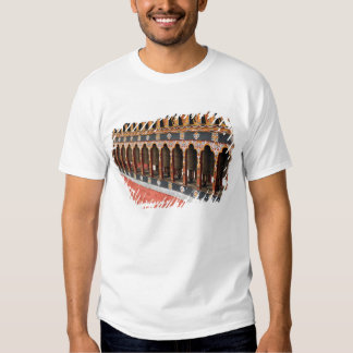 Prayer Wheels of the central square in Thimphu T-shirt