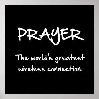 Prayer Wireless Poster