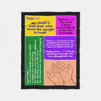 Prayers Fleece Blanket