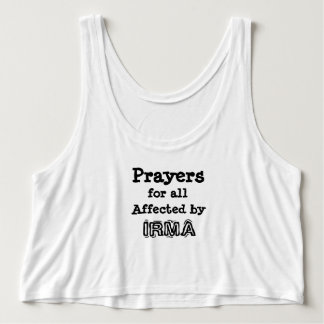 Prayers for all Affected by IRMA Shirt