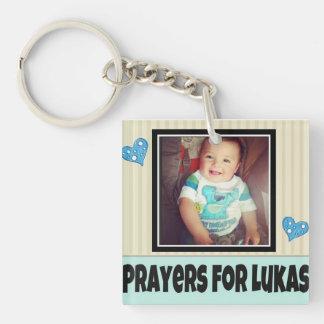 Prayers For Lukas Keychain