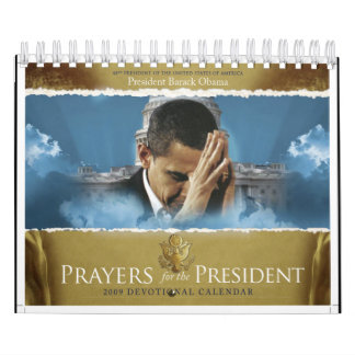 Prayers for the President Wall Calendar