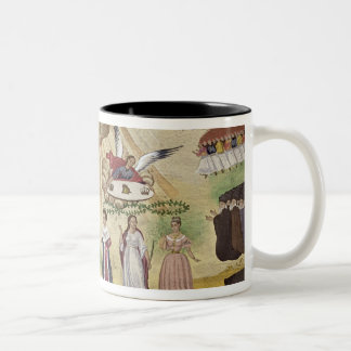 Prayers to the Gods for the Liberation of Greece, Two-Tone Coffee Mug