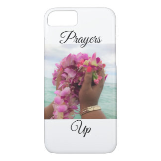Prayers up iphone case