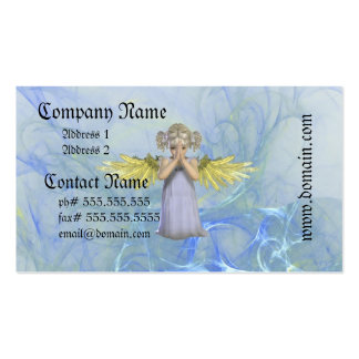 Praying Angel Business Cards