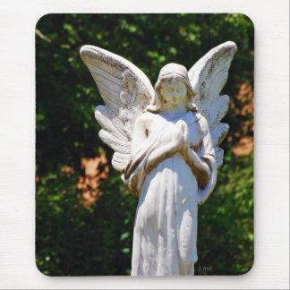 praying angel mouse pad