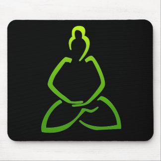 Praying Buddha Mouse Pad