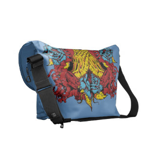 Praying hands bag courier bags