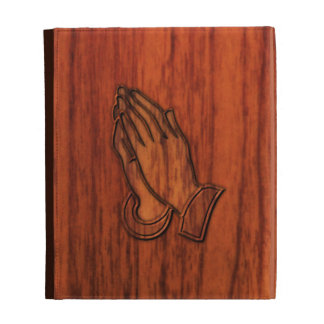 Praying Hands iPad Folio Cases