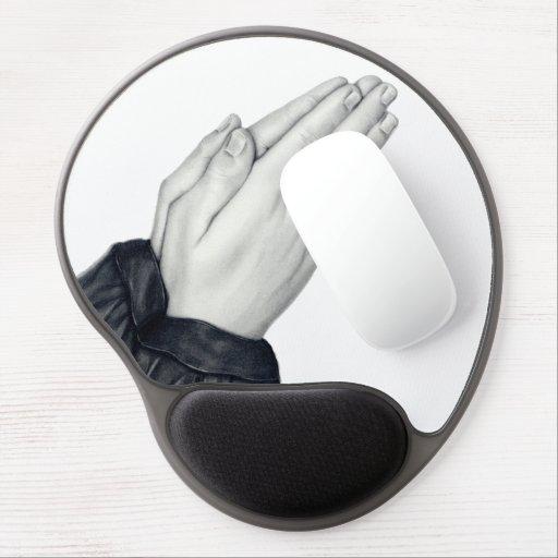 Praying Hands Gel Mousepad