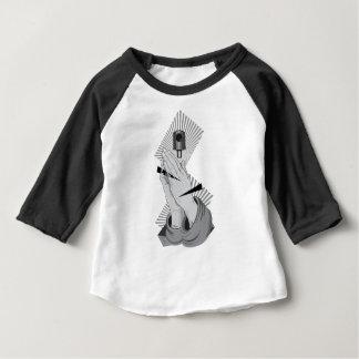 Praying Hands Graffiti Baby T-Shirt