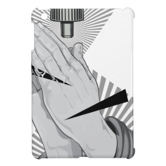 Praying Hands Graffiti iPad Mini Covers