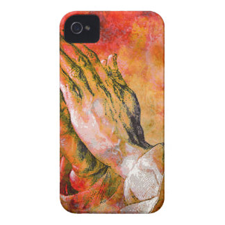 PRAYING HANDS iPhone 4 COVERS