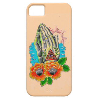 praying hands iPhone 5 case