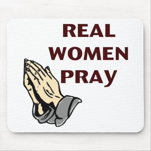 Praying Hands - Real Women Pray Mousepads