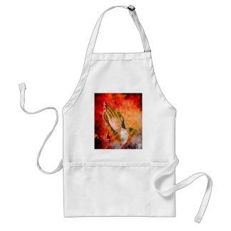 PRAYING HANDS STANDARD APRON