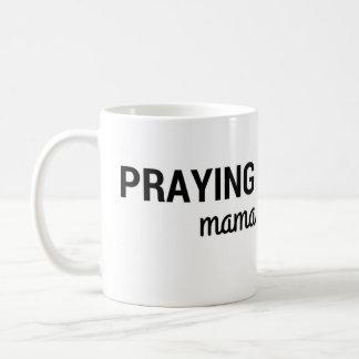 Praying Mama Simple Small Mug