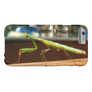 Praying Mantis Bugged iPhone Case