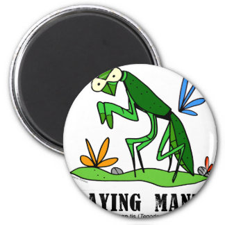 Praying Mantis by Lorenzo Traverso Magnet