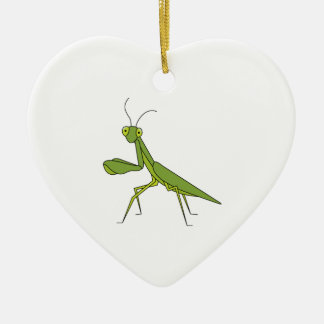Praying Mantis Ceramic Ornament